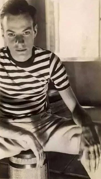 Richard Feynman as a youth
