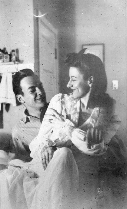 Richard and Arline, 1940s