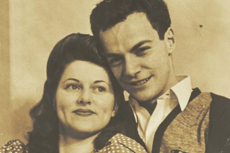 Arline and Richard, 1940s