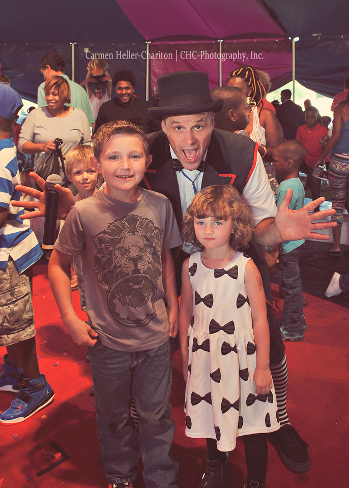 Birthday Boy Linus & Malina with Jeff Jenkins Ringmaster