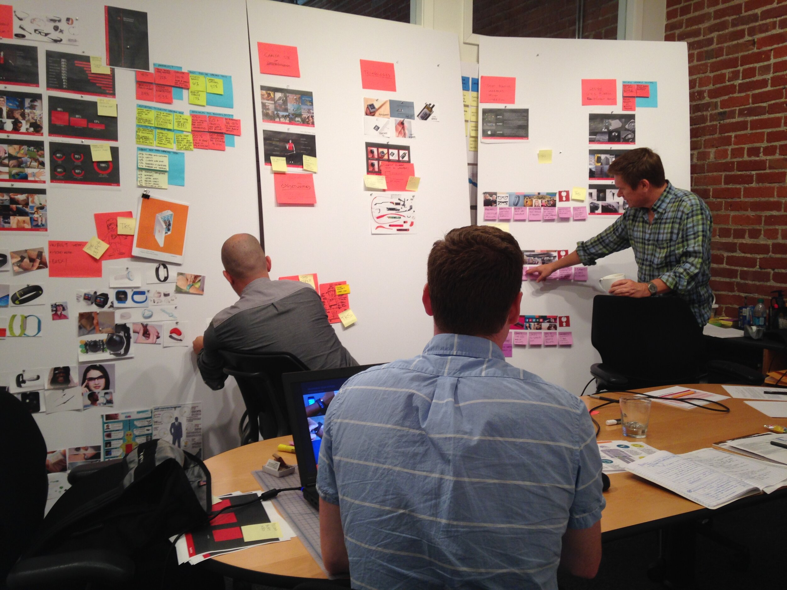 Methods: Market research, observational research & interviews, low fidelity prototyping. -