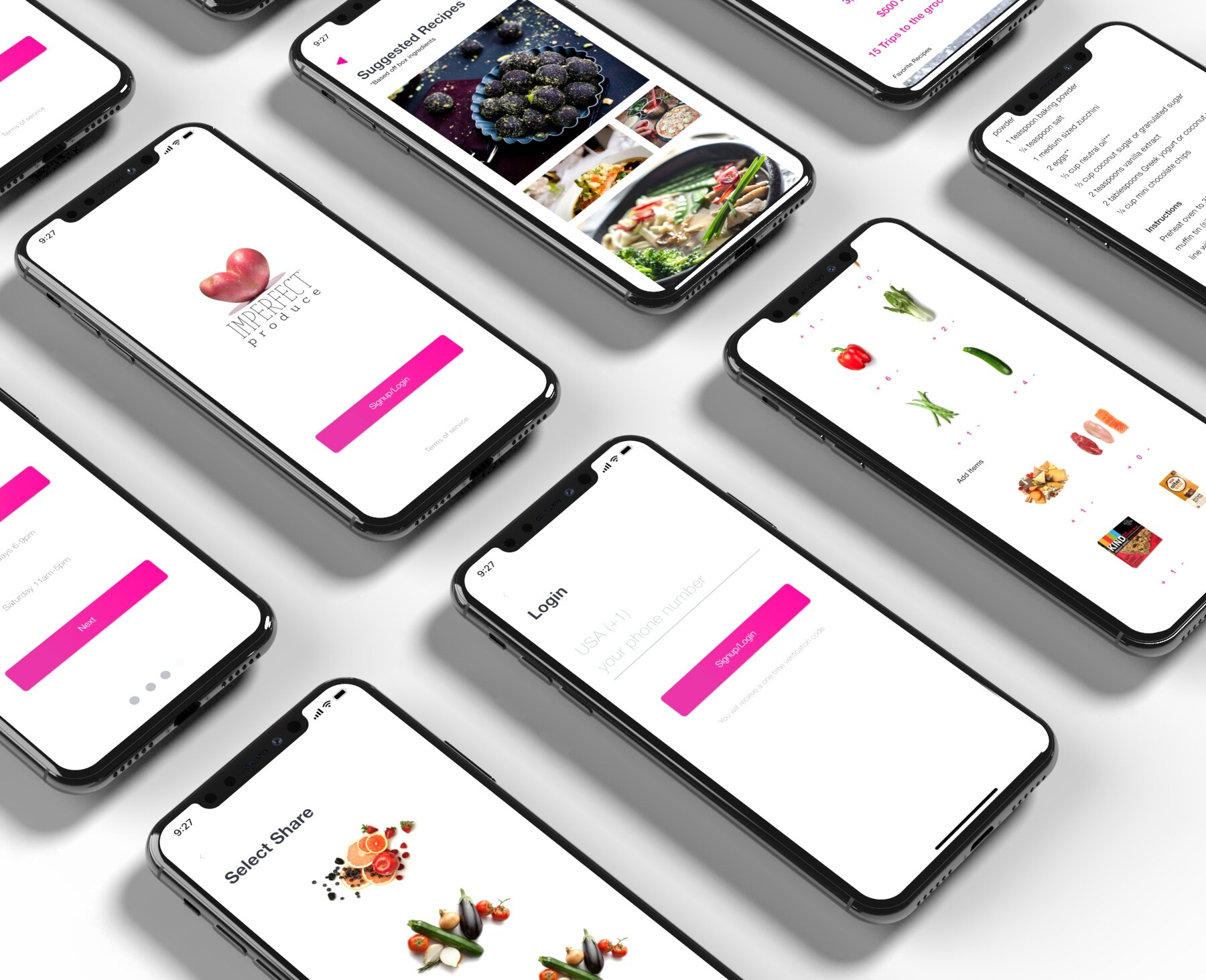 Imperfect Produce - A short UX project exploring a mobile platform for Imperfect produce