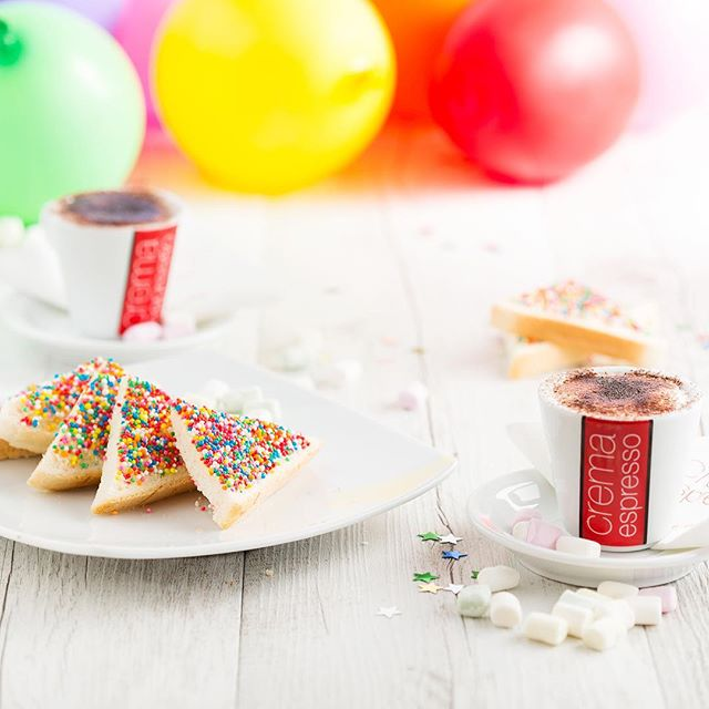Second week of school holidays, treat the kids (and yourself) with something from our Crema Kids menu. #schoolholidays #fairybread #babycino #cremakids