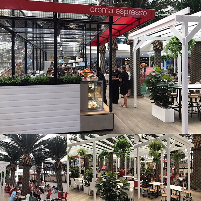 Crema at The Strand Coolangatta is now open. Come and enjoy this unique store. #palmtrees #beach #relax #coffee #lunch #breakfast