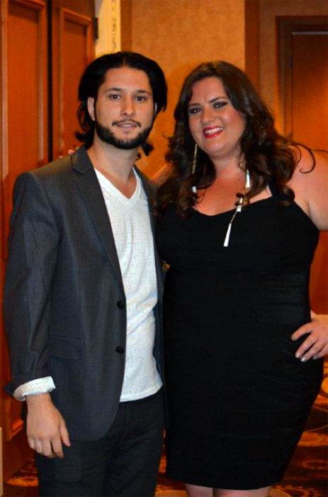 Sal & Jen pictured at the 2012 NAHA