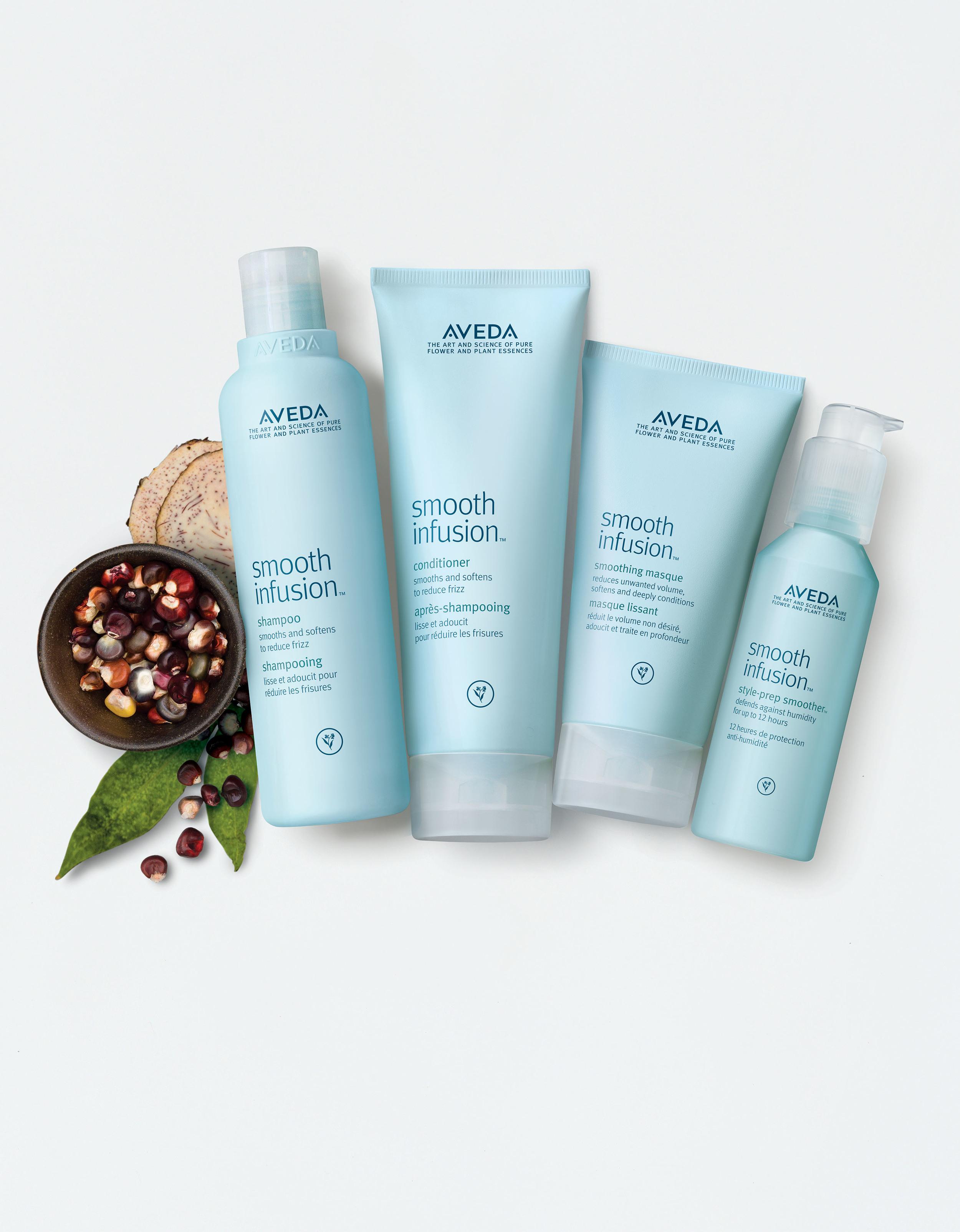 Nurture hair with smoothing formulasof botanical nourishment, including the NEW smoothing masque.