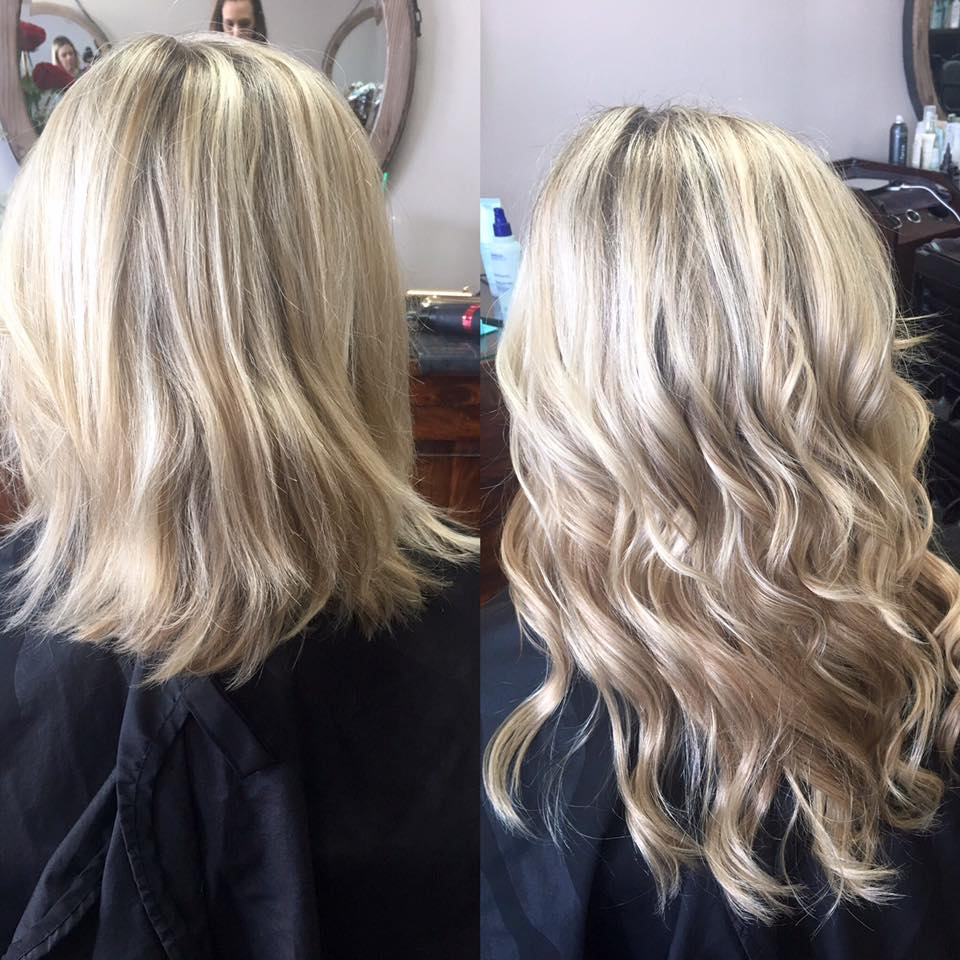salon glow extensions
