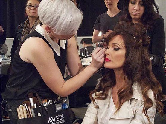 Elizabeth Cook Makeup Artist Brown Aveda