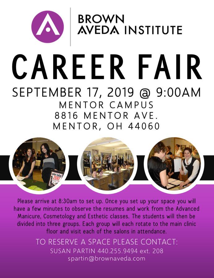 Mentor Career Fair — Brown Aveda Institute