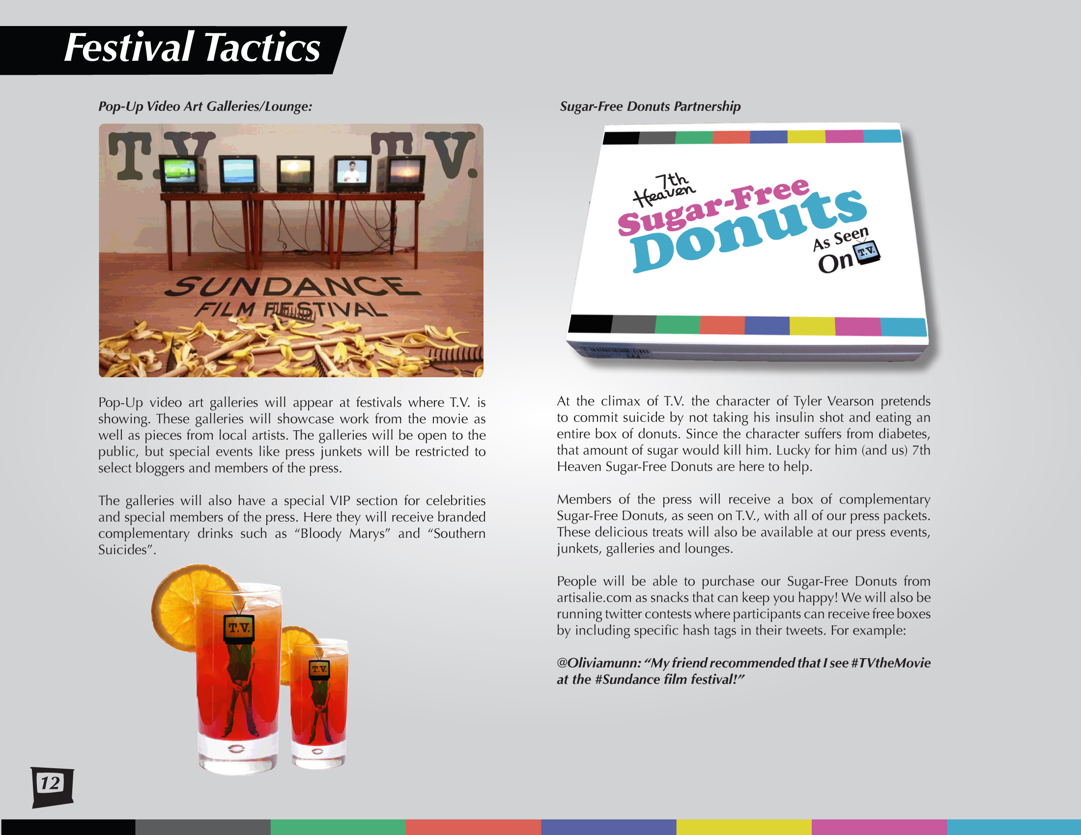 Sample Page: Festival Tactics