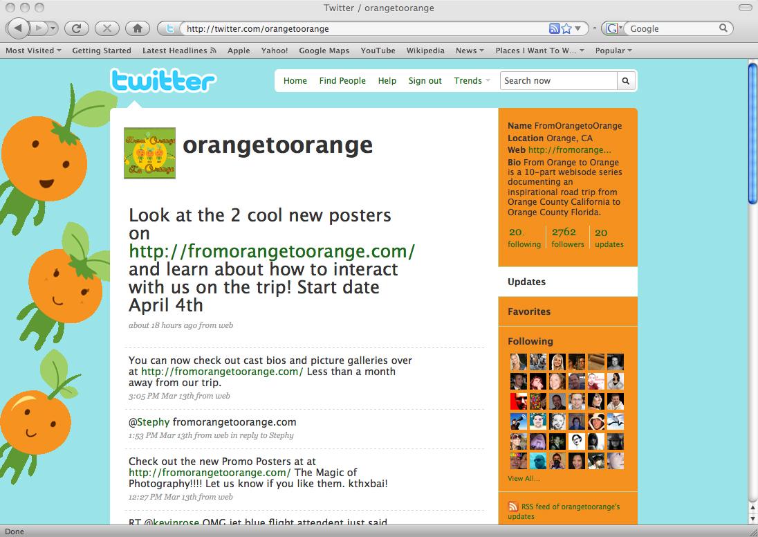 From Orange to Orange Twitter