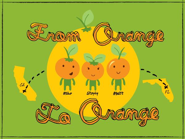 From Orange to Orange Logo