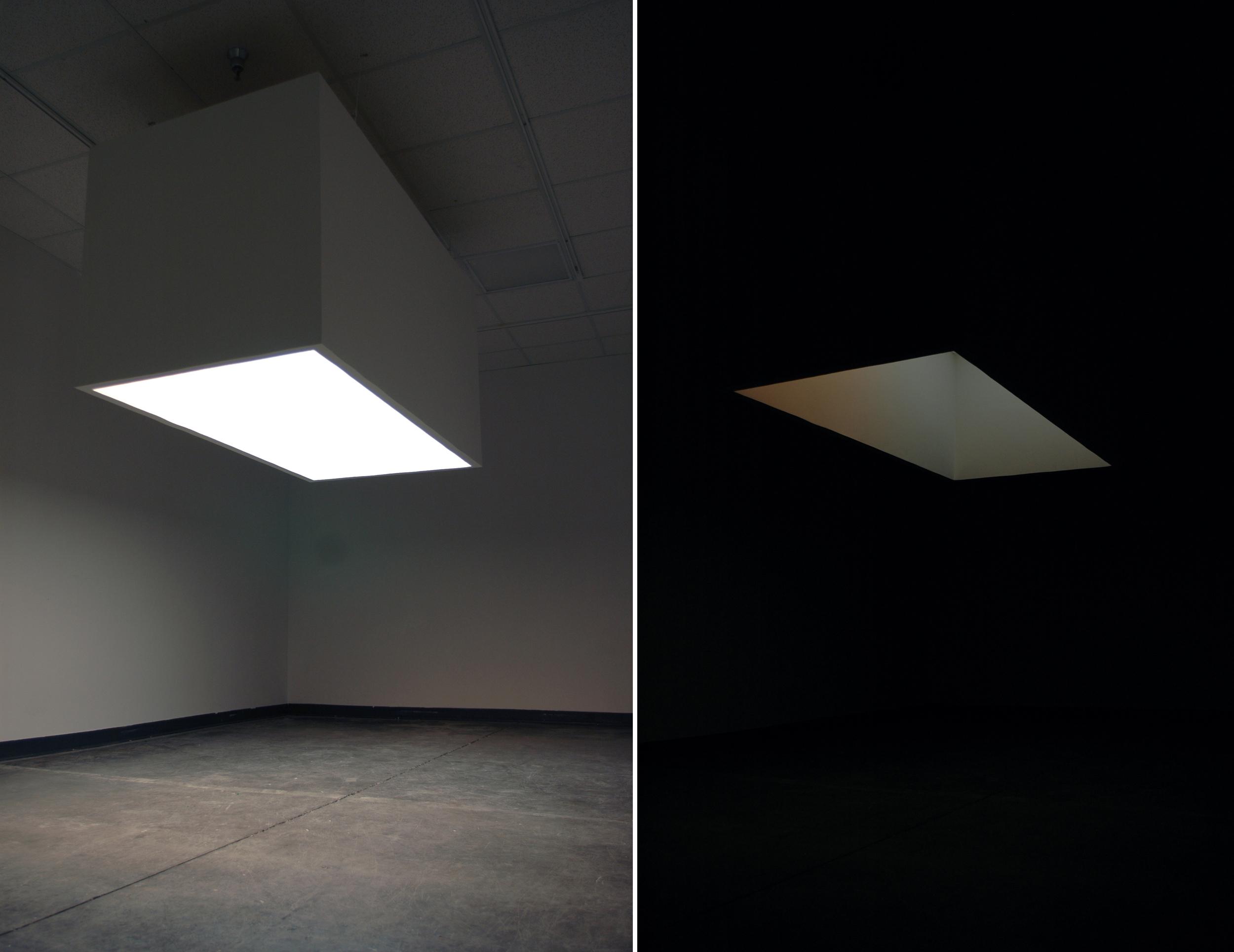 White Box With Light Dana Haugaard