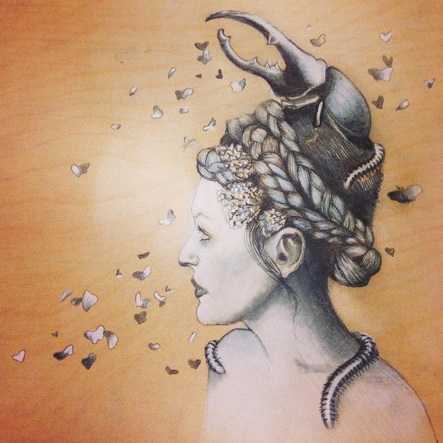 """Study in Pestilence"" 2015"