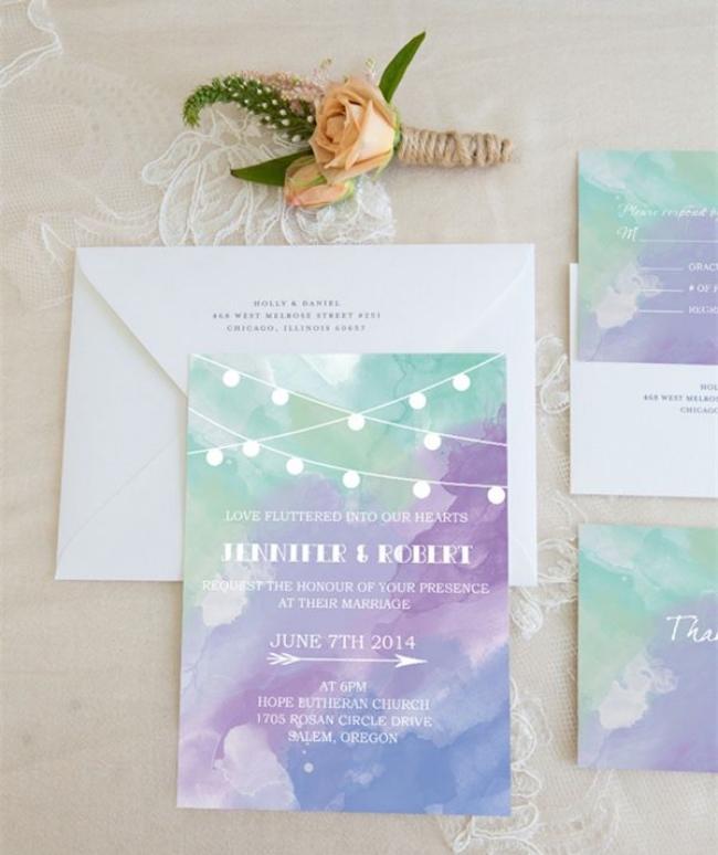 Photo via  Elegant Wedding Invites