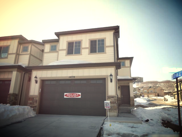MLS# 1142522 (New Construction)   List Date 2/16/2013  2162 square feet--3 bed / 2 bath   14778 South Cardiff Draper, Utah 84020   Call Reed at 801-859-5057 to get more information and make an appointment to see this home today.   >>Click here for LIST PRICE and more information.   Listing Brokerage: D.R. Horton Inc.