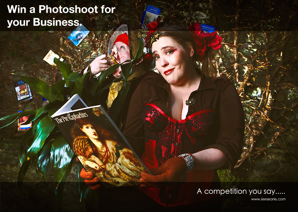 A great opportunity to win your Business a FREE Photoshoot.