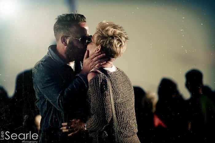 A loving kiss