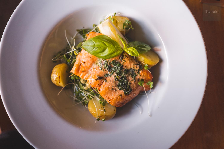 Salmon Food Photography Cornwall