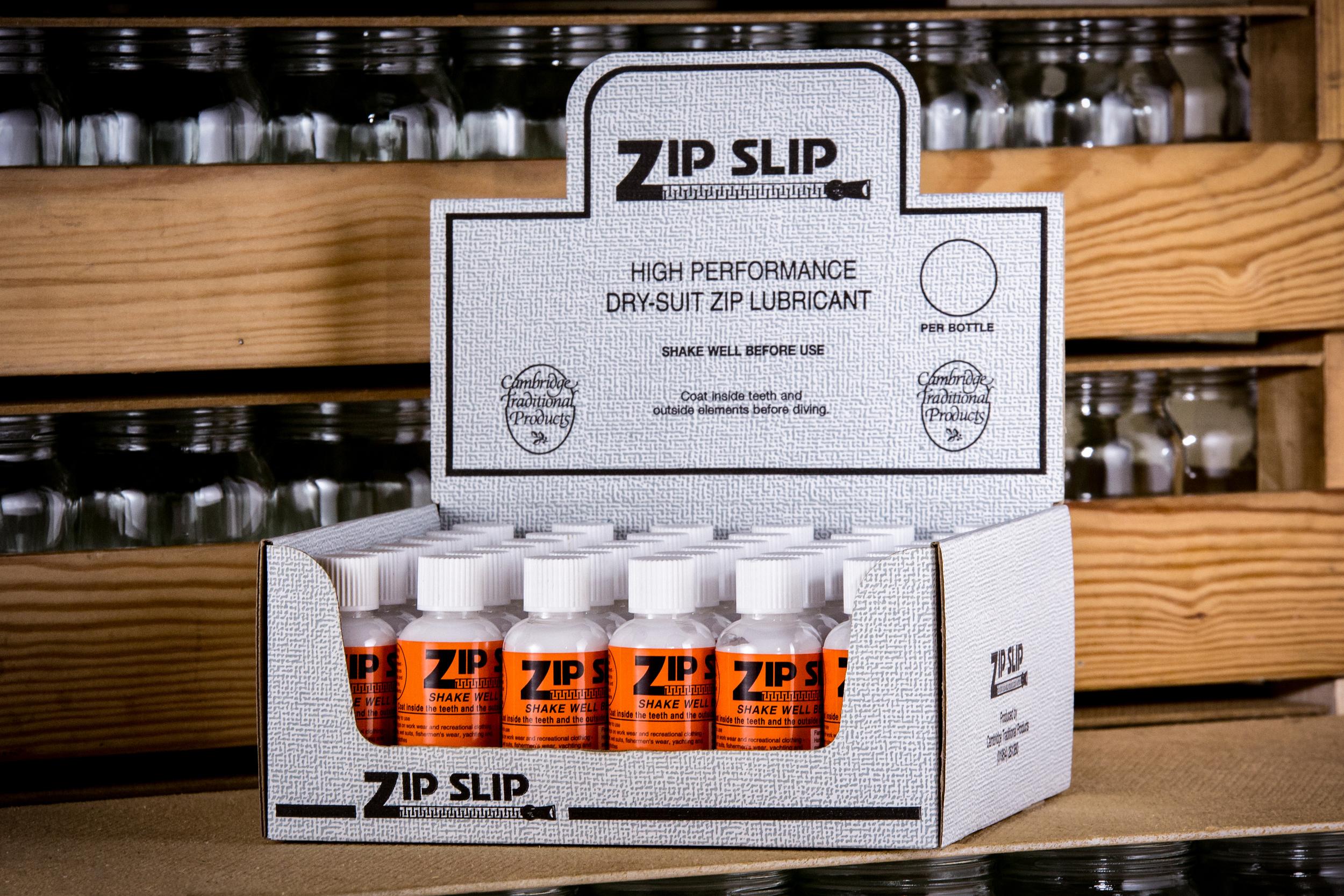Zip-Slip in its original zip lubricant packaging