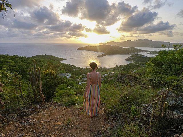 Two weeks ago I married my best friend. #liorfamily #nonsuchbay #sunset #antiguaandbarbuda #honeymoon
