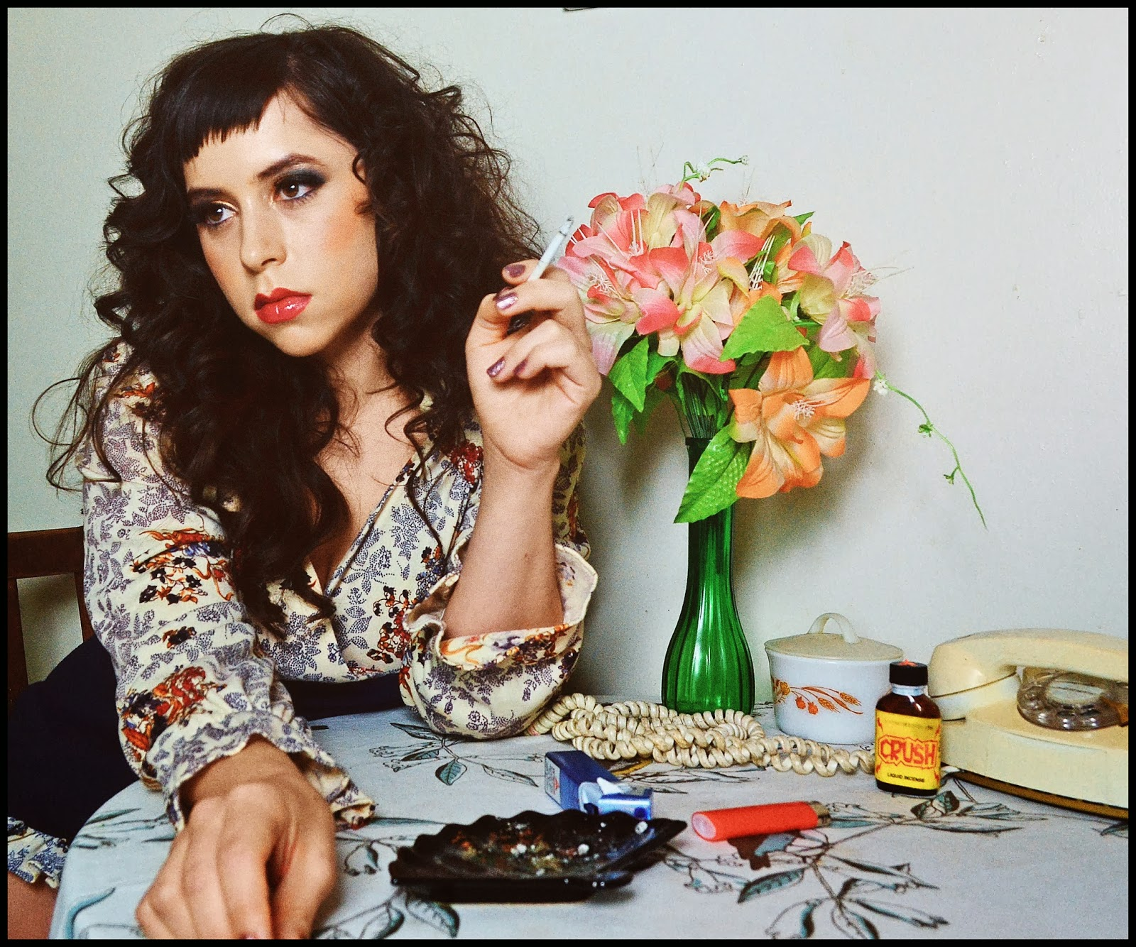 Photo by Garrett Shore , hair and makeup by Drea Lorraine.