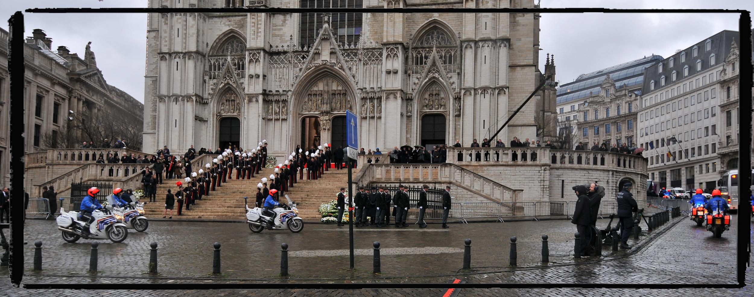Bruxelles 2014 Obsèques de la reine Fabiola