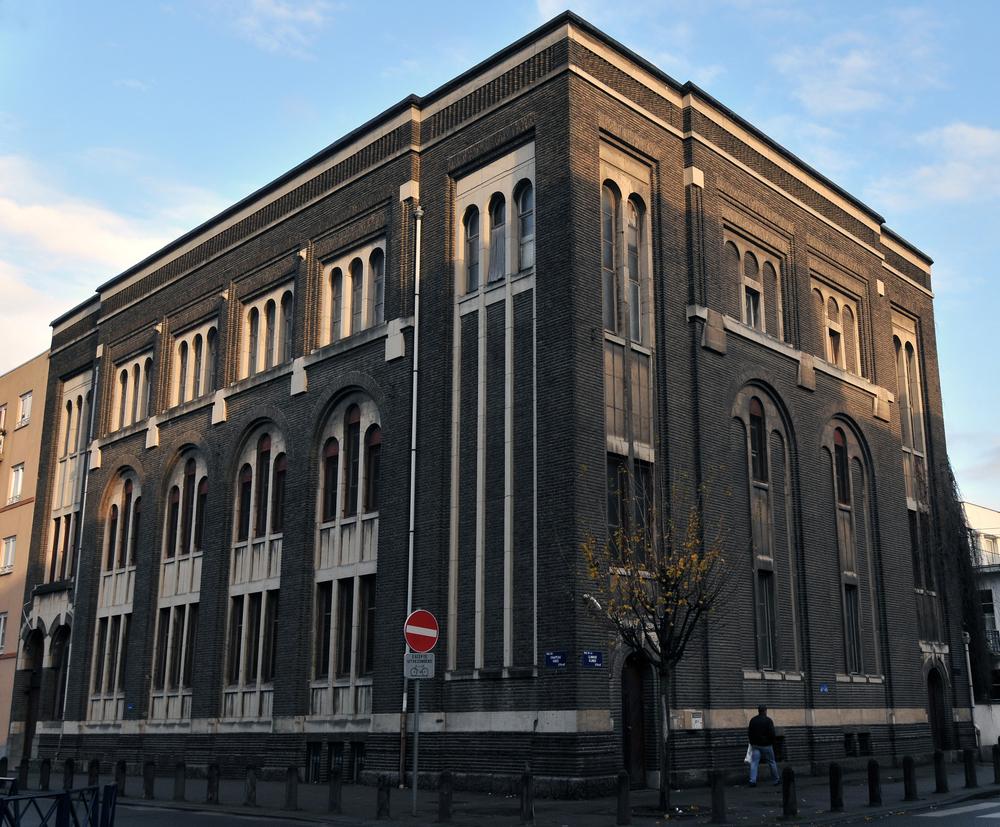 Synagogue rue de la clinique à Anderlecht