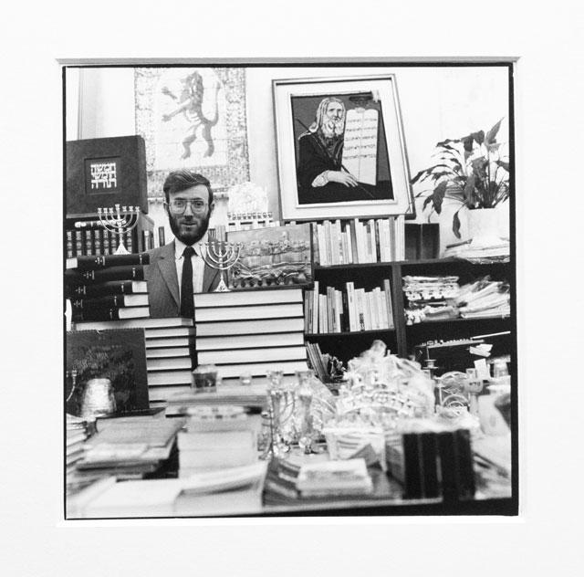 Bernard in his store