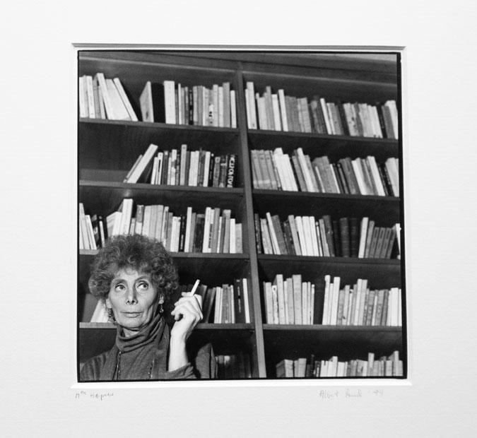 Jacqueline bookshelf