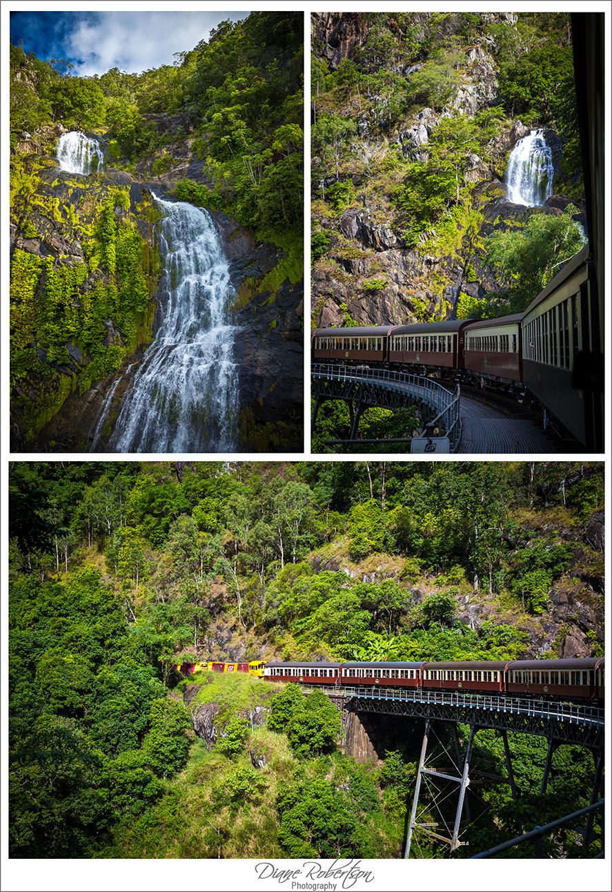 Kuranda railway and Barron Falls