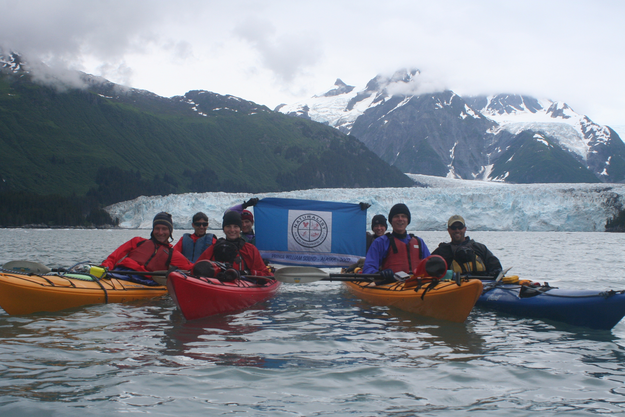 Sea Kayaking in Prince William Sound, Alaska