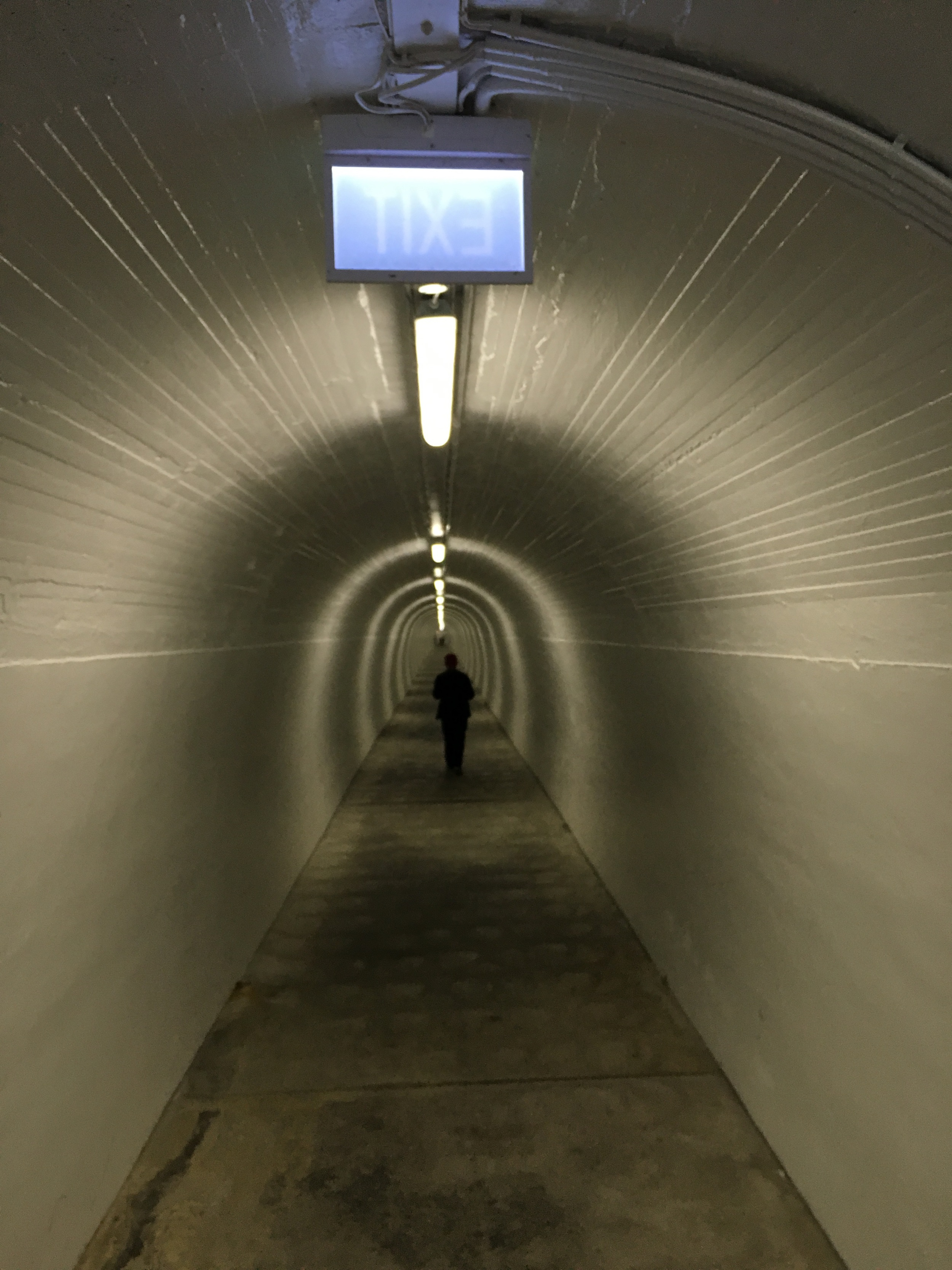 Tunnel into hill to reach Whanganui elevator