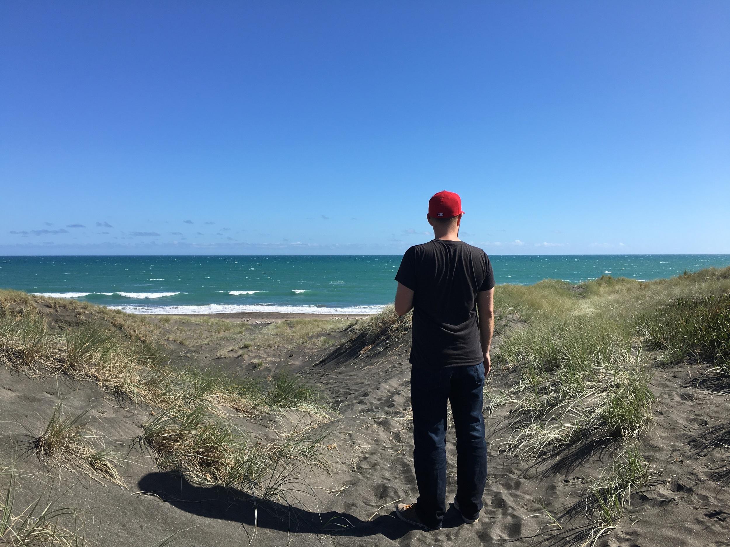 Tasman Sea, Whanganui (Castlecliff, really)