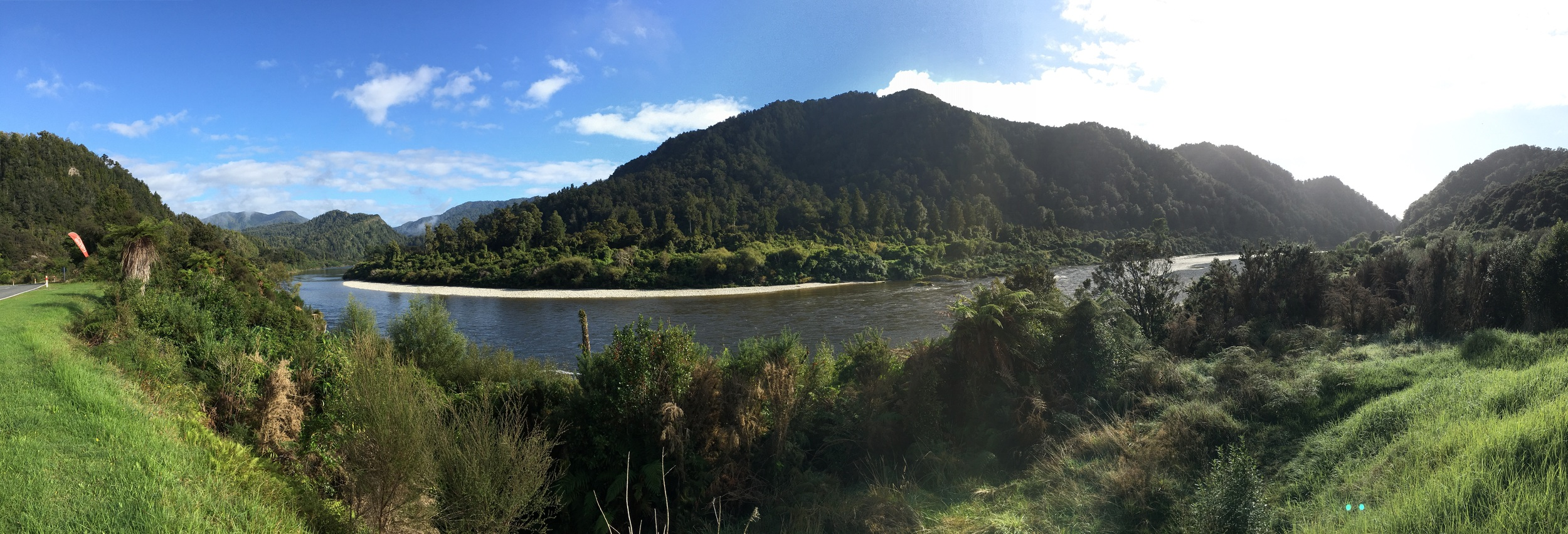Buller Gorge area, outside our Berlin campground