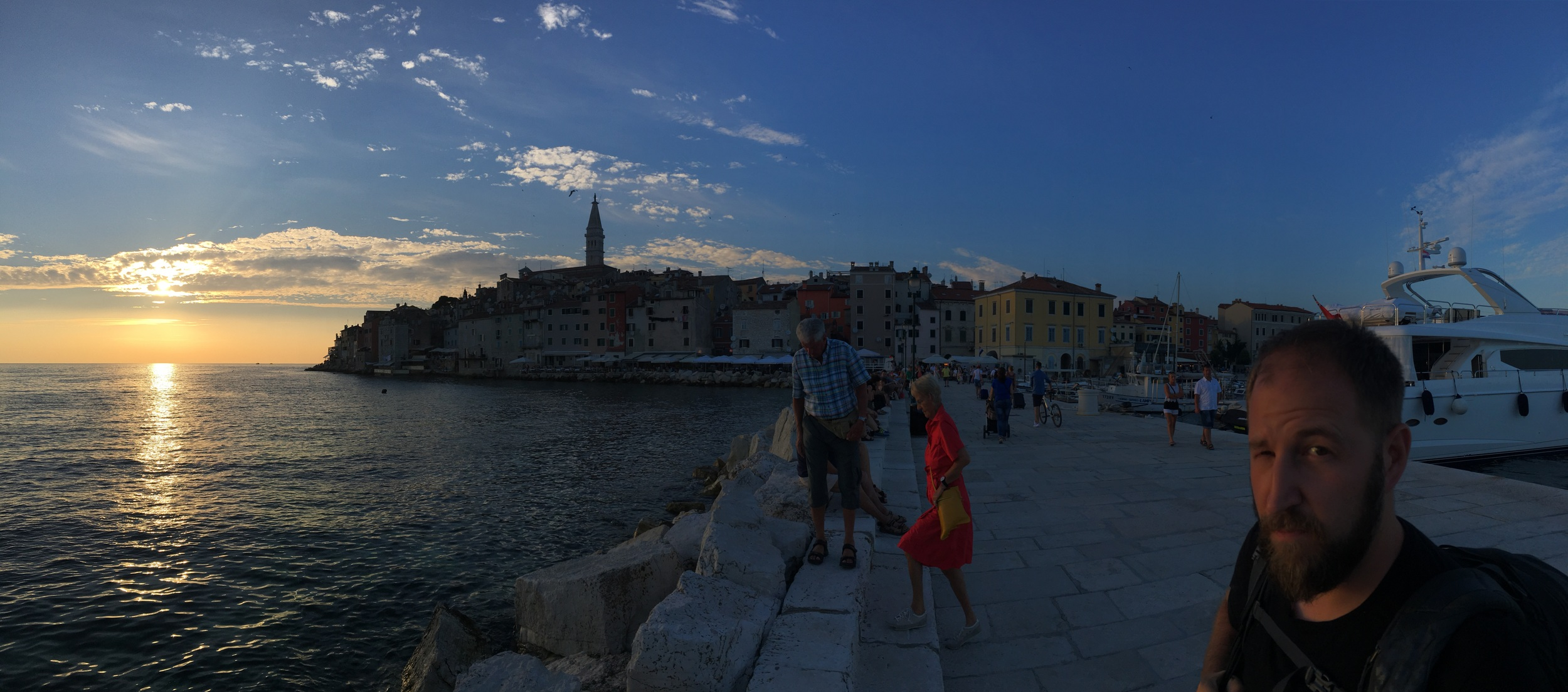 A much better view of Rovinj. And maybe Adam, too.