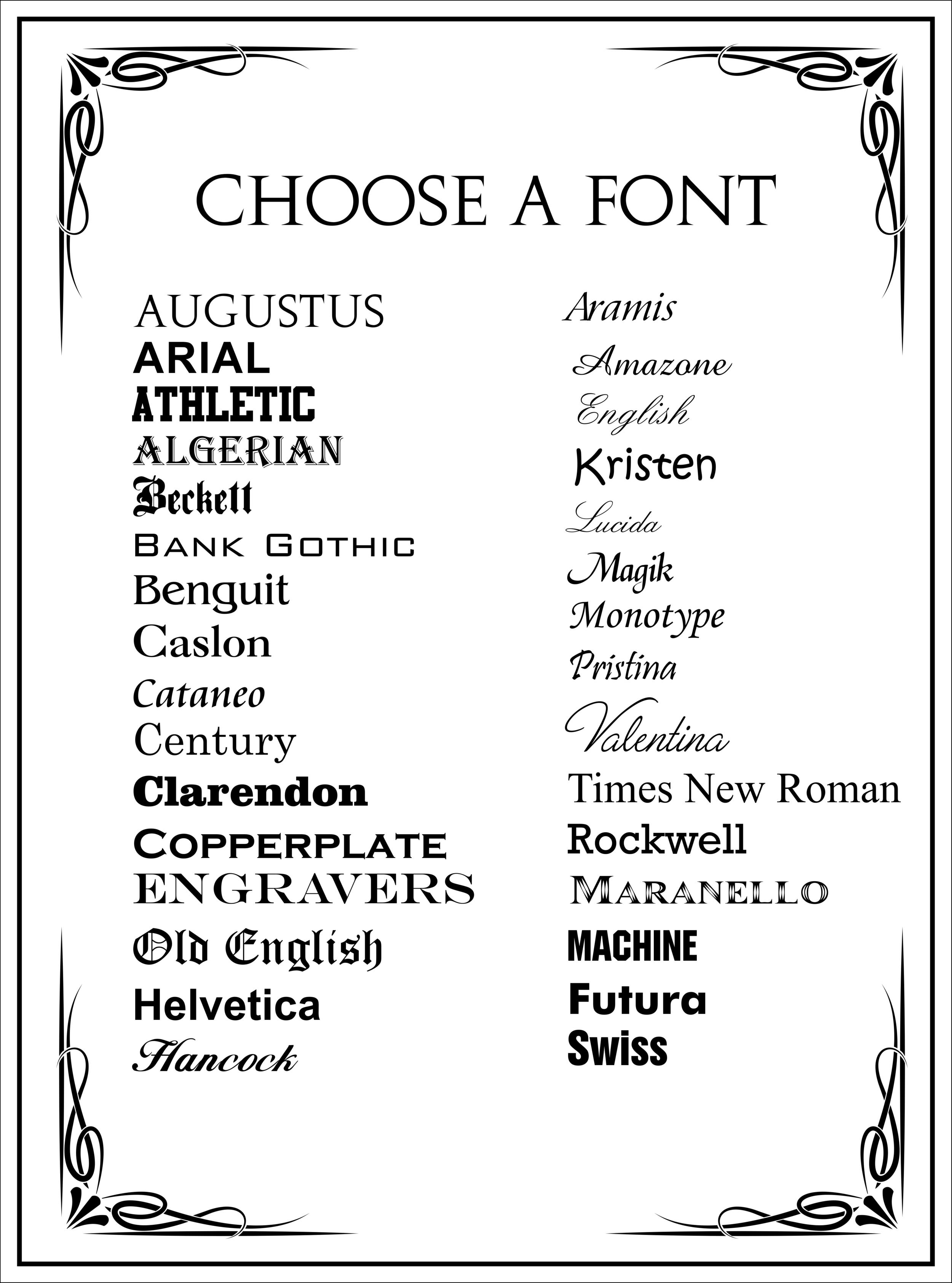 website font list.png