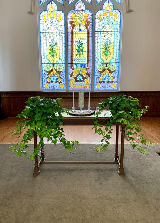 """Altar Table 48"""" x 18"""""""