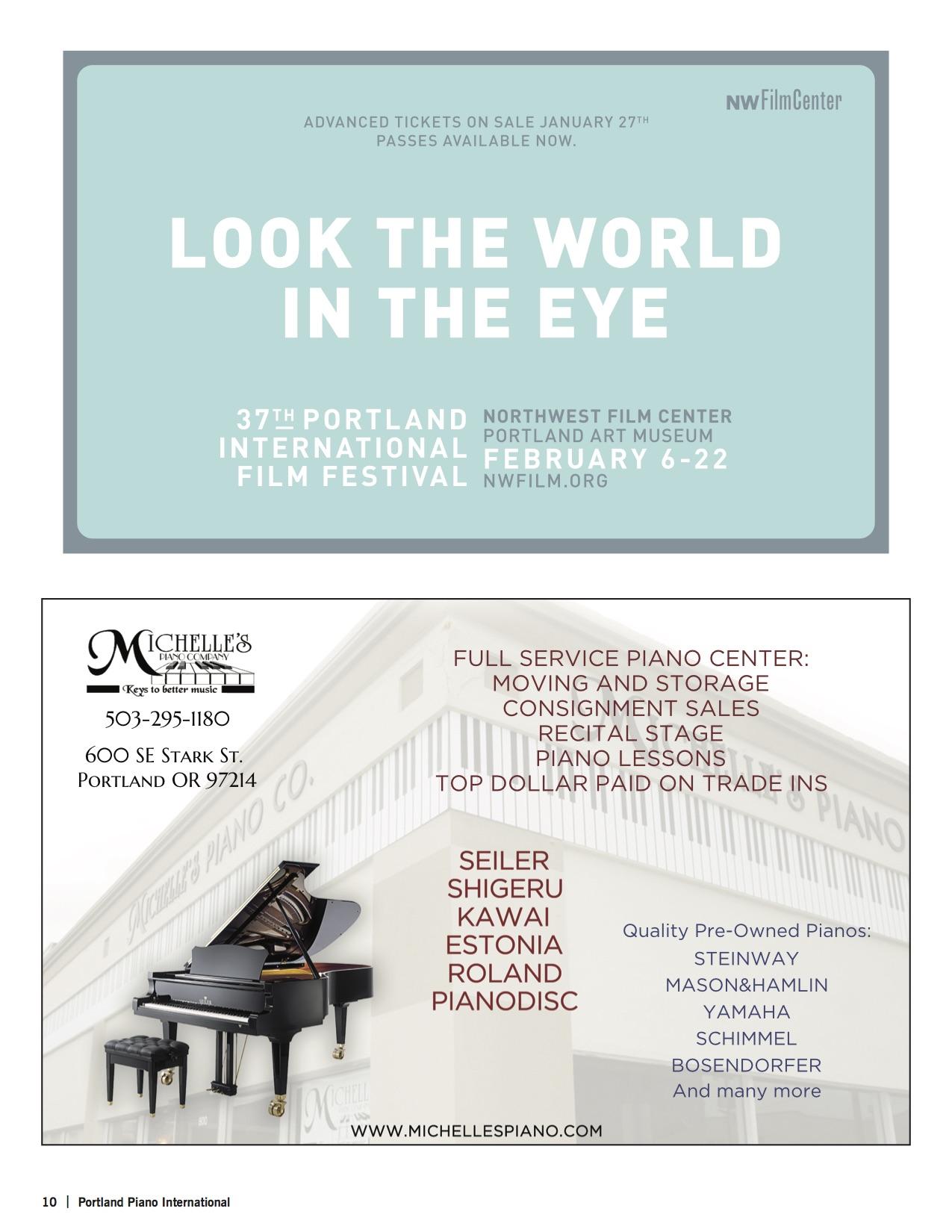 Feltsman Program — Portland Piano International