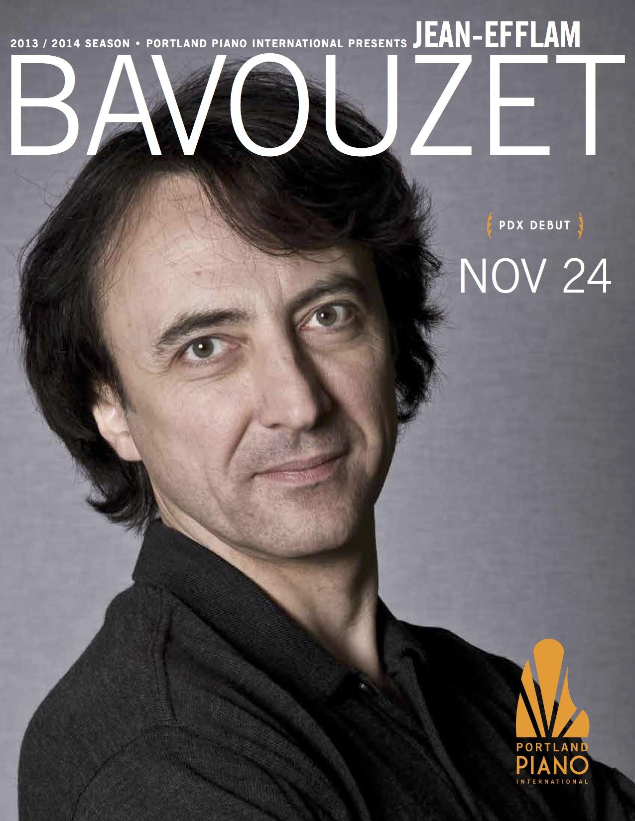 Bavouzet Program — Portland Piano International