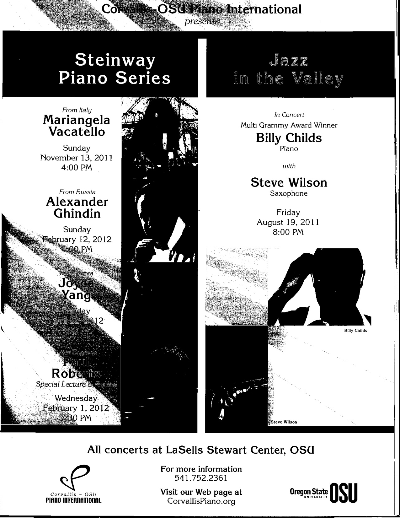 Summer Fest 2011 Program — Portland Piano International