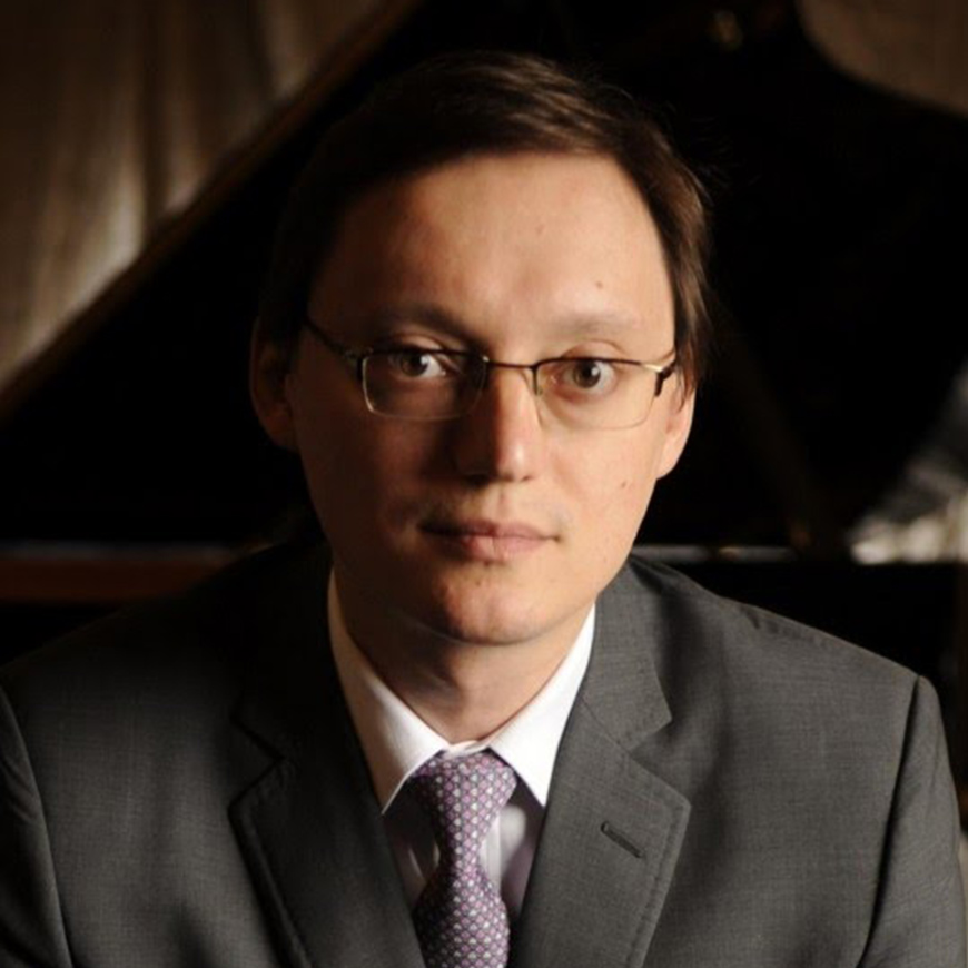 Van Cliburn Gold Medalist, Stanislav Ioudenitch to perform with Behzod for Sunday's performance.