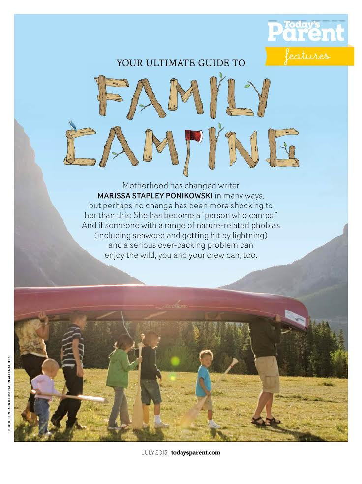 Today's Parent: Family Camping Feature