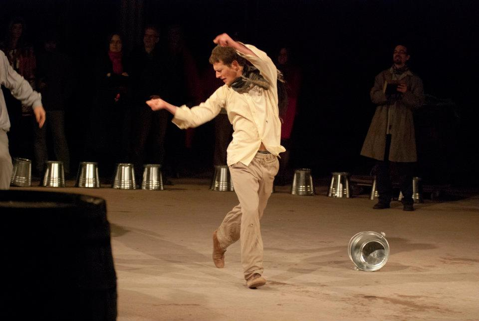 The Thirty-six -   Story of a Fake Messiah -  FÜGE and STEREO Akt production premiered: April, 2012. - Rumbach Synagogue