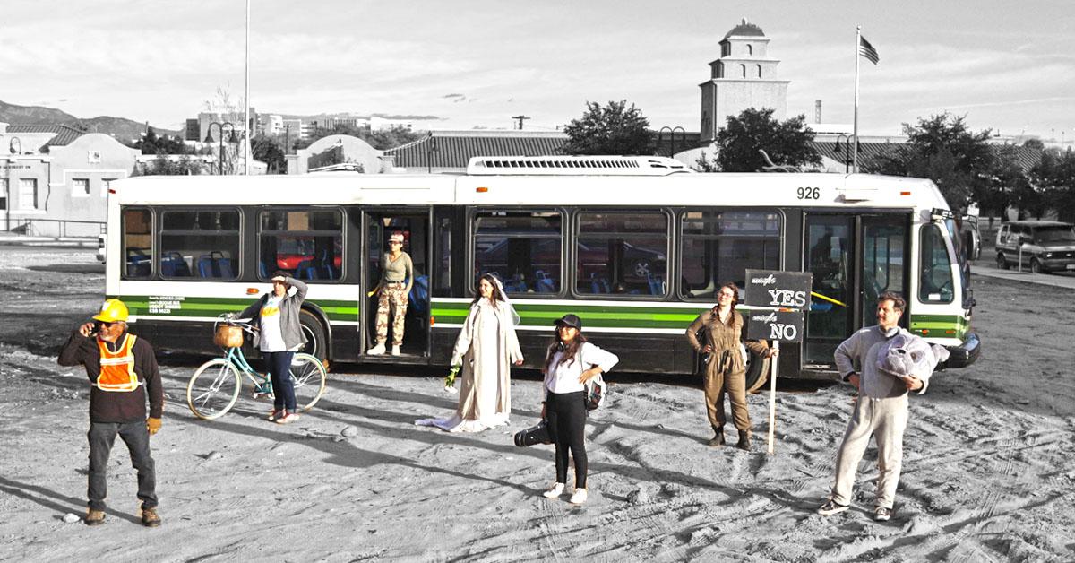STEREO AKT - q-Staff Theatre:  Promenade: Albuquerque  (2018)   Albuquerque, New Mexico, USA