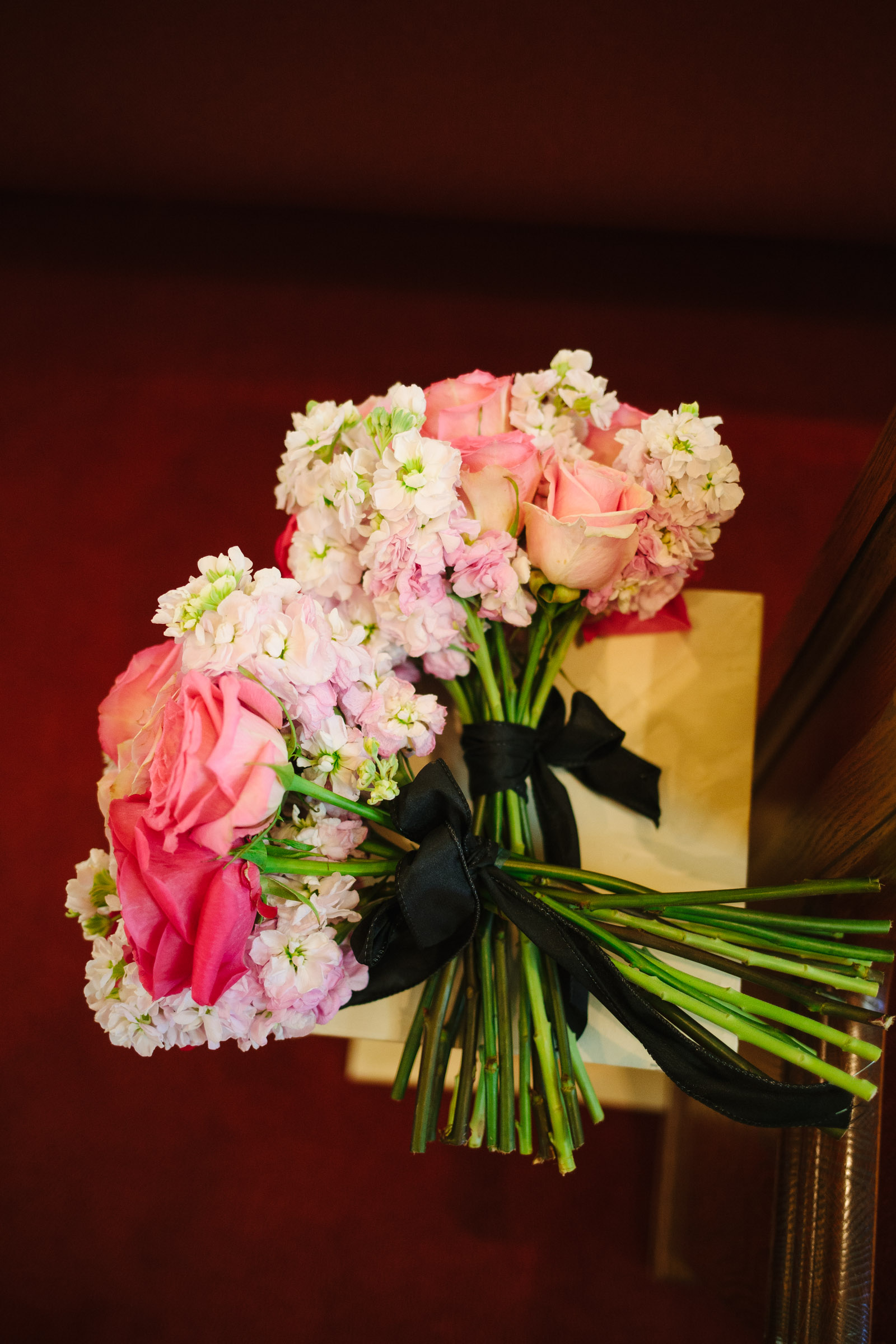 Two bouquets for those who have passed <3