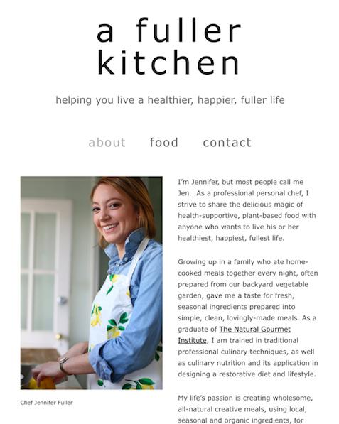 a fuller kitchen