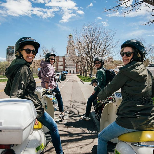 We had the distinct pleasure of hosting @mountainsandmimosas on a recent Guided Scooter Tour. Along the way, @rebeccaann_photos captured this and plenty of other great shots.