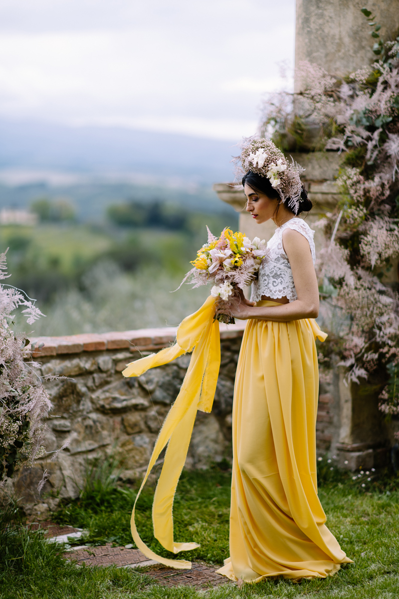 Wedding Florist in Tuscany