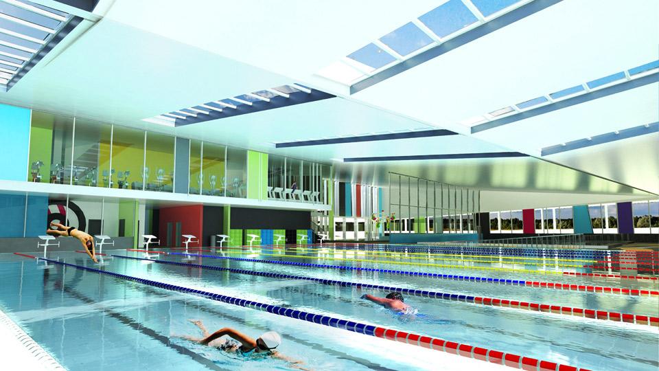 Riverside Aquatic Centre-Architecture HDT